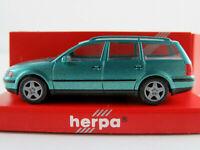 Herpa 032223 VW Passat Variant (1997-2000) in grünmetallic 1:87/H0 NEU/OVP