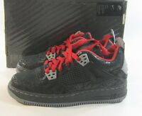 365160-001 AJF 4 (Gs) Premier Athletic,Blacks Laces Medium And Leather Size 6Y