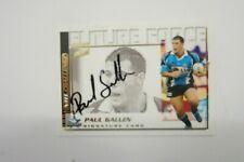 2002 Rugby League Future Force Signature card FF21 Paul Gallen Cronulla Sharks