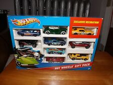 HOT WHEELS GIFT PACK, W / EXCLUSIVE DECORATION YELLOW AMC, 9 CAR PACK, NIP, 2011
