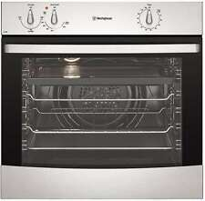 WVG613SNG WESTINGHOUSE NATURAL GAS Stainless steel fan forced oven