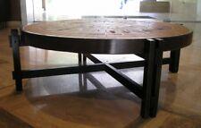 """Table basse signée ROGER CAPRON céramique modèle """"herbier"""" 1960 design XXeme"""