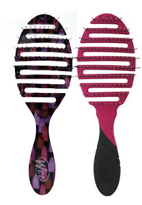 2 PACK Wet Brush Pro 2.0 Flex Dry Pink & Power Pigment Vented Brush
