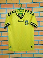 Brondby Jersey 2012 2013 Home SMALL Shirt Mens Football Soccer Trikot Hummel