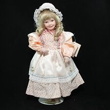 "Yolanda Bello's Children Of Mother Goose Mary Had a Little Lamb, 14"" Porcel Doll"