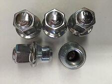 Set of 5: Dodge Chrysler OEM Stainless Steel Lug Nuts 6507824AA FREE PRIORITY
