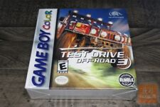 Test Drive Off-Road 3 (Game Boy Color, GBC 1999) FACTORY SEALED! - RARE! - EX!