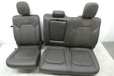 2015 - 2017 FORD F150 REAR SEAT KING RANCH HEATED *ARMREST CUPHOLDER MISSING*