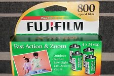 4 Roll Box Fuji Fujifilm Superia X-TRA 800 24 Exp Color Print 35mm Film pack