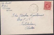 CANADA  4c Geo VI  MORRIS, MAN. to Alaska 1945