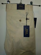 Smart sand BNWT chinos POLO by Ralph Lauren - Stretch Classic W30 L34 RRP £125!