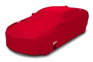2016-2019 Camaro Genuine GM Outdoor Car Cover Red 23457476