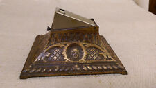 ZIGARRENABSCHNEIDER GUSSEISEN FRAUENKOPF ANTIQUE TABLE CIGAR CUTTER LADIES HEAD