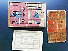 Anker Steinbaukasten Nr.8 +Bauplan / 19. Jhd./ Spielzeug,Bausteine,Antiquitäten,