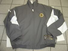 "NEW MENS MAJESTIC NHL ""BOSTON BRUINS"" HOCKEY THERMA BASE ZIP JACKET SIZE XL $120"