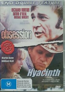 Obsession / Hyacincth : Double movie Pack Actors incl. Richard Burton