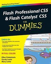 Flash Professional CS5 & Flash Catalyst CS5 For Dummies-ExLibrary