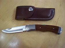 VINTAGE BUCK KNIFE 531 ~  DISCONTINUED MODEL NOS 1993 / ORIGINAL LEATHER SHEATH