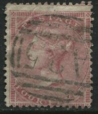 GB Used Abroad Malta A25 on 1857 4d wmk Large Garter