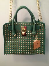 BRACIANO  Woman's Handbag Shoulder Bag Satchel Tote Turqupise/Green NWT