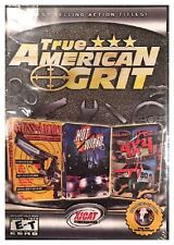 TRUE AMERICAN GRIT (PC) BRAND NEW SEALED - 3 FULL GAMES - FREE U.S. SHIP - NICE