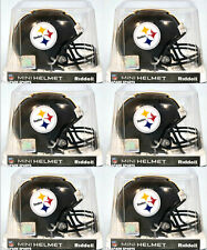 PITTSBURGH STEELERS - Riddell VSR4 Mini Helmet (6 PACK LOT)