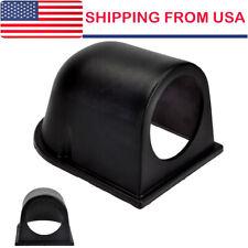 """Universal 2"""" 52MM Single Black Plastic Gauge Dash Mount Pod Holder For Car US"""