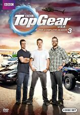 TOP GEAR USA Season 3 2012-2013: Tanner Foust US TV Season Series - R1 DVD sp