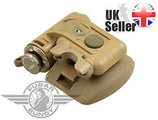 AIRSOFT HELMET LIGHT LED MICH TORCH SUREFIRE STYLE RAIL MOLLE TAN IFF UK RED