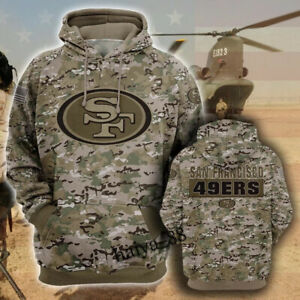 San Francisco 49ers Fans Hoodie Hooded Sweatshirt Sports Coat Spring Jacket Gift