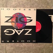 """LP VINYL 12"""" THE HOOTERS ZIG ZAG CBS 4650841 ROCK"""