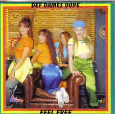 Def Dames Dope-Feel Free cd single eurodance Belgium