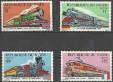 Timbres Trains Niger 316/9 ** (36034U) - cote : 12  €