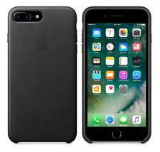 Apple iPhone 7 plus Leder Case schwarz
