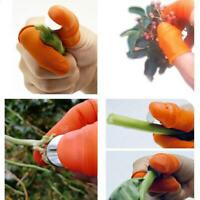 Silicon Thumb Cutter Separator Finger Picking Device Garden Harvesting Plant