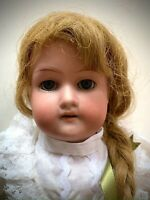 """Adorable Antique Armand Marseille """"Baby Betty"""" Bisque Head Doll 370 2/0X DEP"""