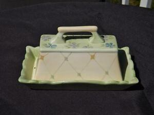 Tracy Porter Evelyn Collection Covered Butter Dish