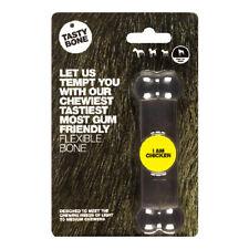 Tastybone Flexi Rubber Dog Chew Toy Chicken Toy Bone | Nylon Softer Plastic