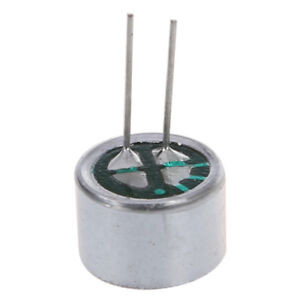 DealMux 10 Piezas de 9,7 mm x 7 mm 2 Pin Mic Capsule Electret Micr/ófono Condensador