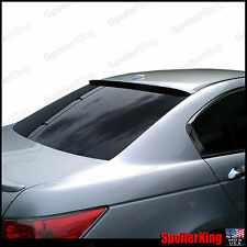 Rear Roof Spoiler Window Wing (Fits: Honda Accord 2008-12 4dr) SpoilerKing
