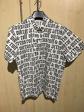 Viktor & Rolf Monsieur SS Shirt White / Black Size 46 RRP £300+