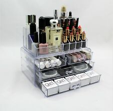 Cosmetic Organiser 4 Drawers Acrylic Jewellery Makeup box Storage Case 143/90