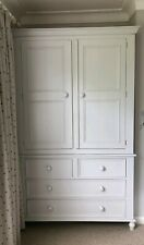 SOLID WOOD PAINTED WARDROBE WITH DRAWERS, MADE TO MEASURE, YOUR CHOICE OF COLOUR