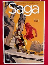 SAGA #10 (NM) BRIAN K VAUGHAN FIONA STAPLES 1st print Image 2013 SOLD-OUT Chew