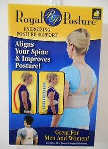 ROYAL POSTURE ENERGIZING POSTURE SUPPORT (L/XL)