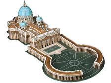 Faszinierendes 3D-Puzzle Petersdom mit Petersplatz in Rom, 56 Teile