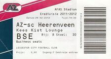 Ticket - AZ v SC Heerenveen 26.02.12