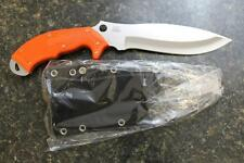 "NEW Spyderco FB20POR Rock Salt Sprint Run H1 ""NO RUST"" Steel Blade & ORANGE FRN!"