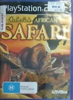 Playstation 2 PS2 Cabela's African Safari Game