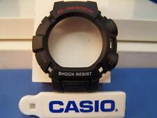 Casio Watch Parts G-9010, GW-9010 Black  Bezel / Shell G-Shock  Red/white Letter